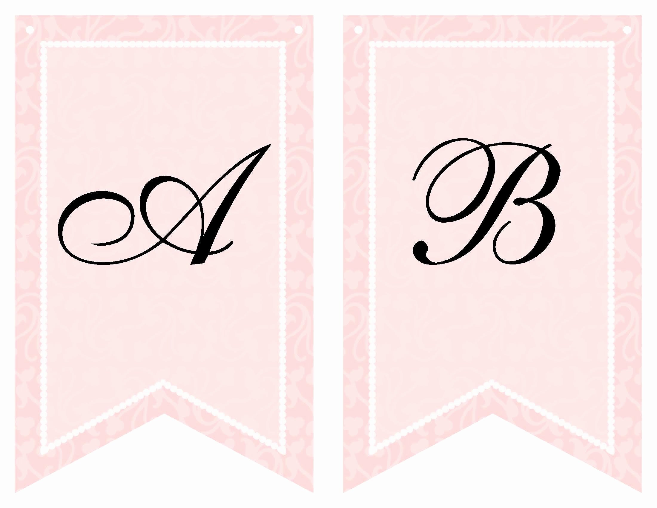 Bridal Shower Banner Template Elegant Free Printable Bridal Shower Banner Vow Renewal