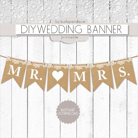 Bridal Shower Banner Template Inspirational Wedding Banner Template – 21 Free Psd Ai Vector Eps Illustrator format Download
