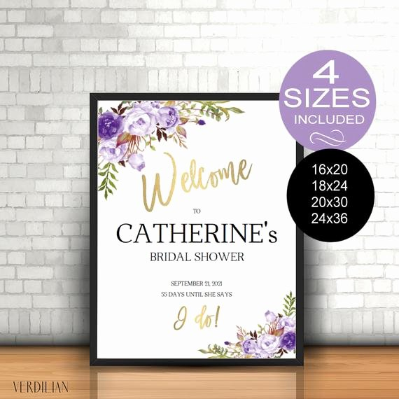 Bridal Shower Welcome Sign Template Inspirational Bridal Shower Wel E Sign Template Reception Greet Guests
