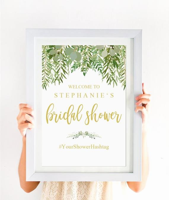 Bridal Shower Welcome Sign Template Lovely Bridal Shower Wel E Sign Template Rustic Bridal Shower