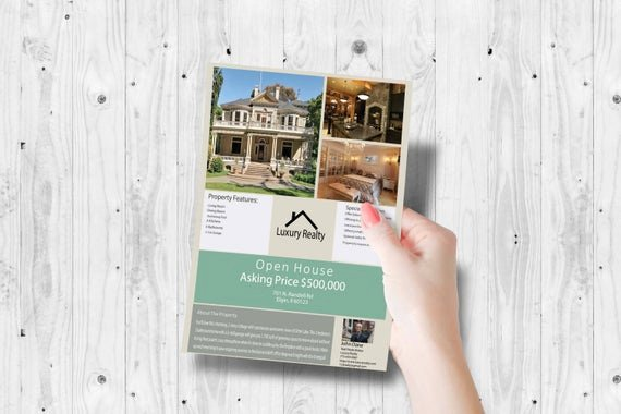 Broker Open House Flyer Best Of Realtor Marketing Marketing Flyer Realtor Open House