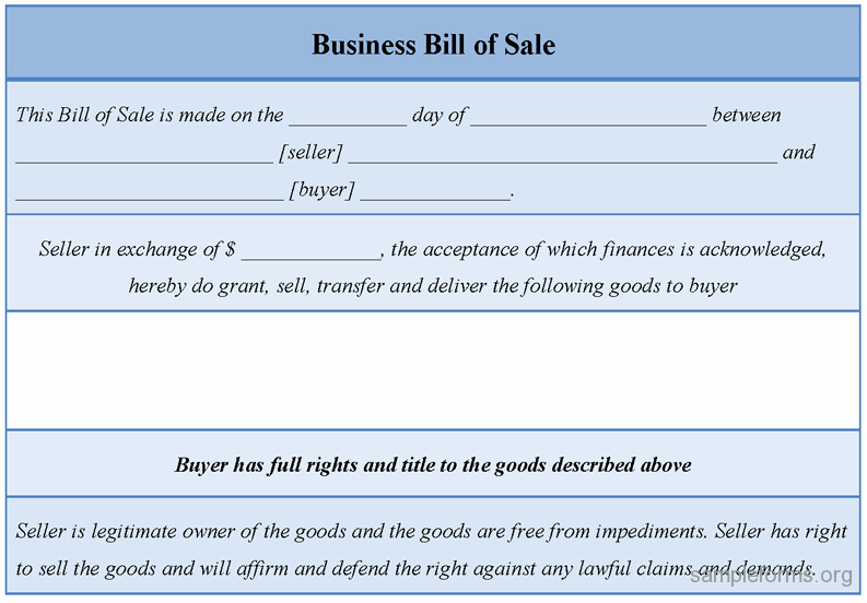 Business Bill Of Sale Pdf Fresh Business Bill Of Sale form Sample forms