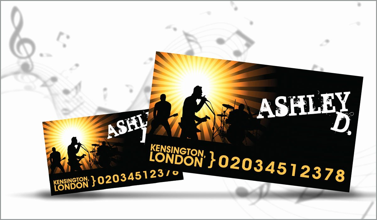 Business Card for Musicians Awesome 10 Impeccably Creative Business Card Ideas for Musicians
