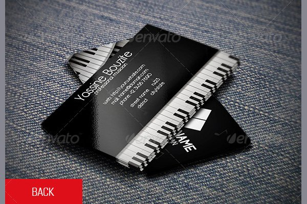 Business Card for Musicians Beautiful 20 Musician Business Card Templates Free & Premium Download