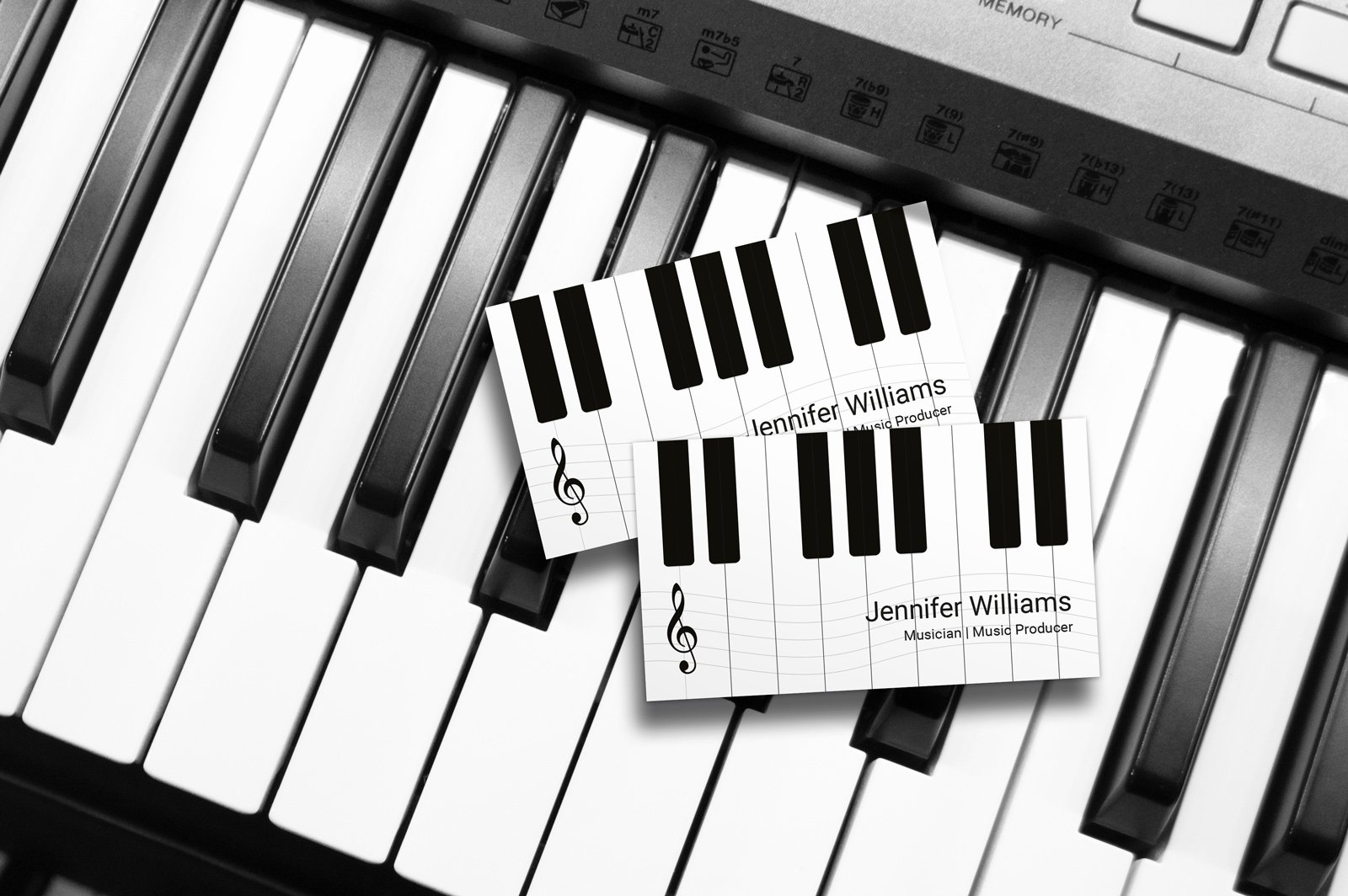 Business Card for Musicians Elegant Music Business Cards Business Card Tips