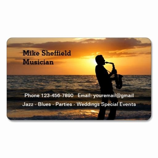 Business Card for Musicians New 287 Best Musician Business Cards Images On Pinterest