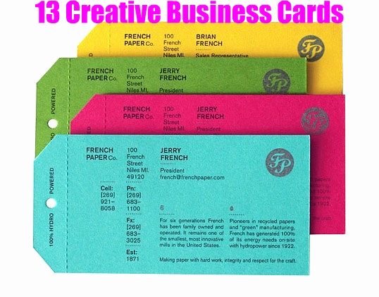 Business Card Ideas for Crafters Fresh 13 Creative Business Cards
