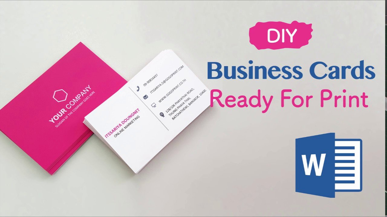 Business Card Images Free Awesome How to Create Your Business Cards In Word Professional