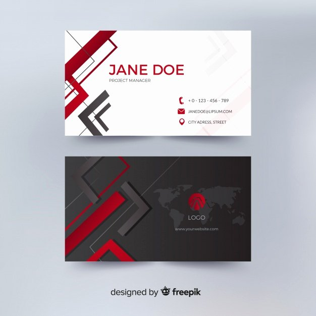 Business Card Images Free Inspirational Business Card Vector