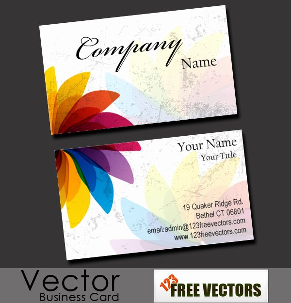 Business Card Images Free Inspirational Free Business Card Vector