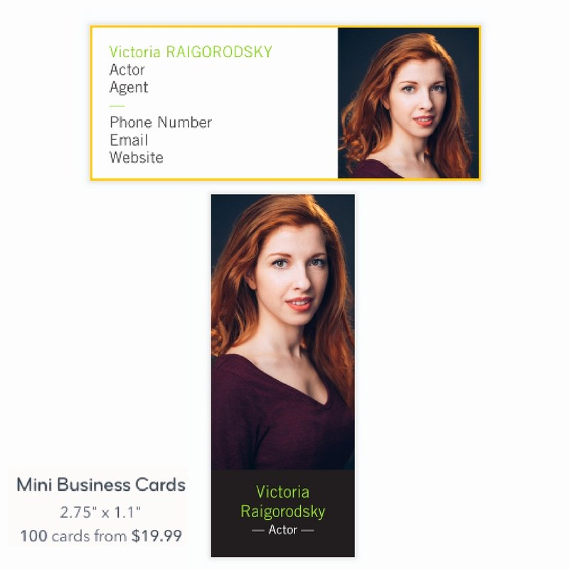 Business Cards for Actors Elegant Do Actors Need Business Cards Actor Ceo