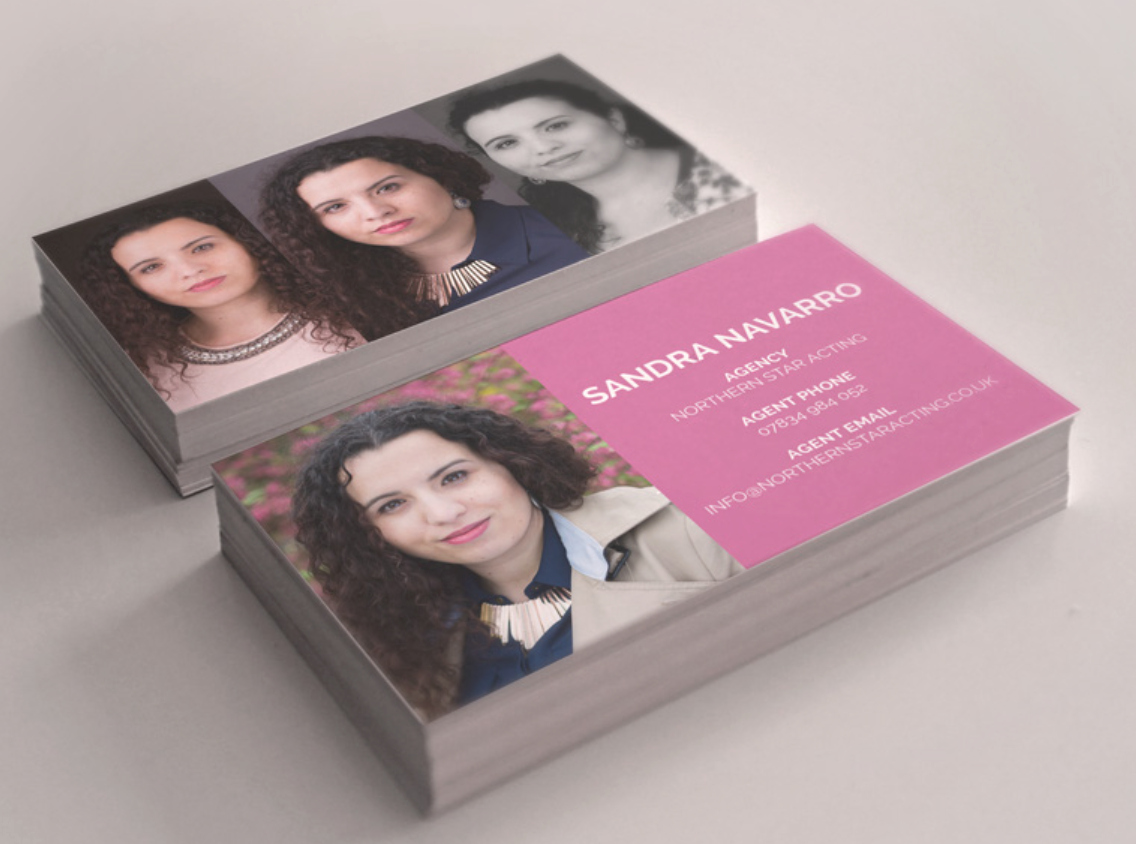 Business Cards for Actors Lovely Business Cards – northern Star Acting