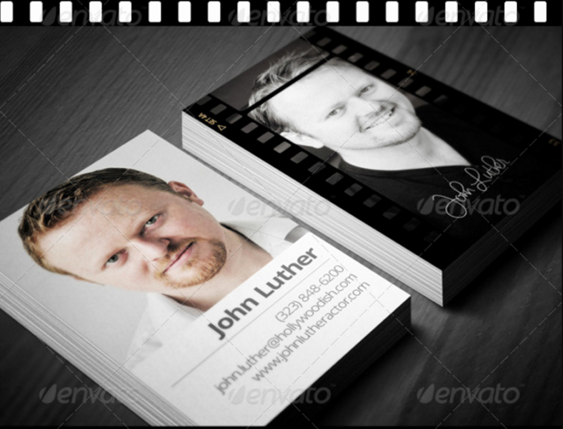Business Cards for Actors Unique 15 Actor Business Card Templates Word Ai Psd