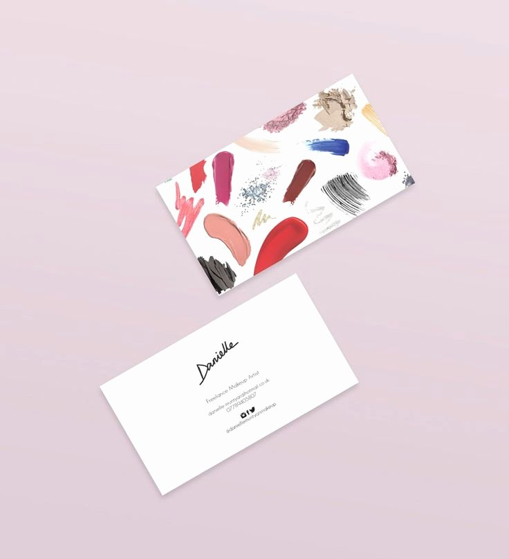 Business Cards for Artists Awesome 25 Best Ideas About Makeup Artist Business Cards On Pinterest