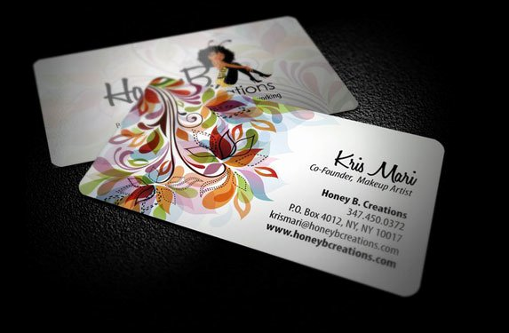 Business Cards for Artists Awesome Artist Business Card