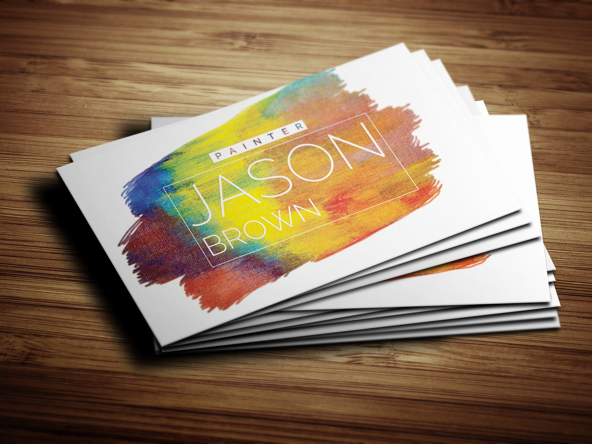Business Cards for Artists Best Of Creative Painter Business Card Business Card Templates Creative Market