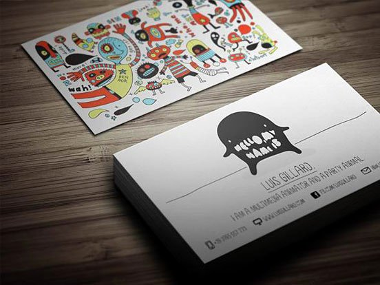 Business Cards for Artists Fresh 40 Neatly Designed Presentable and Creative Business Card Designs for Inspiration Geeks Zine