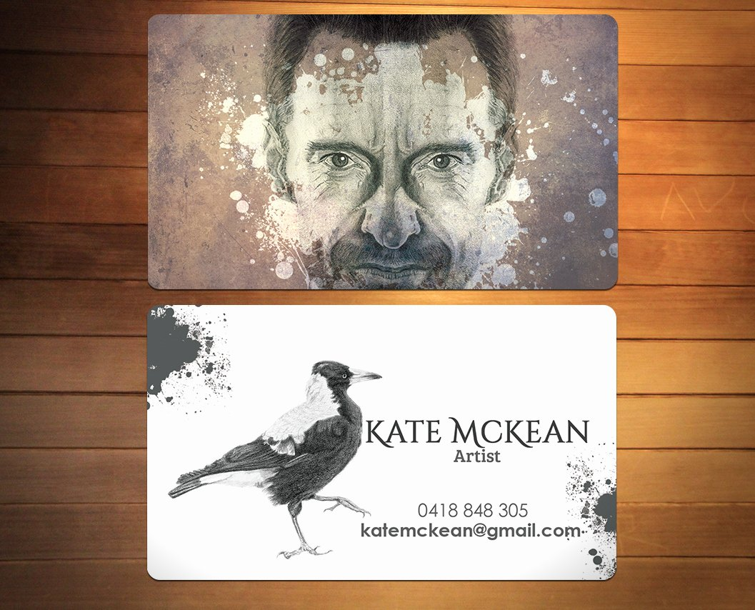 Business Cards for Artists New 74 Elegant Business Card Designs