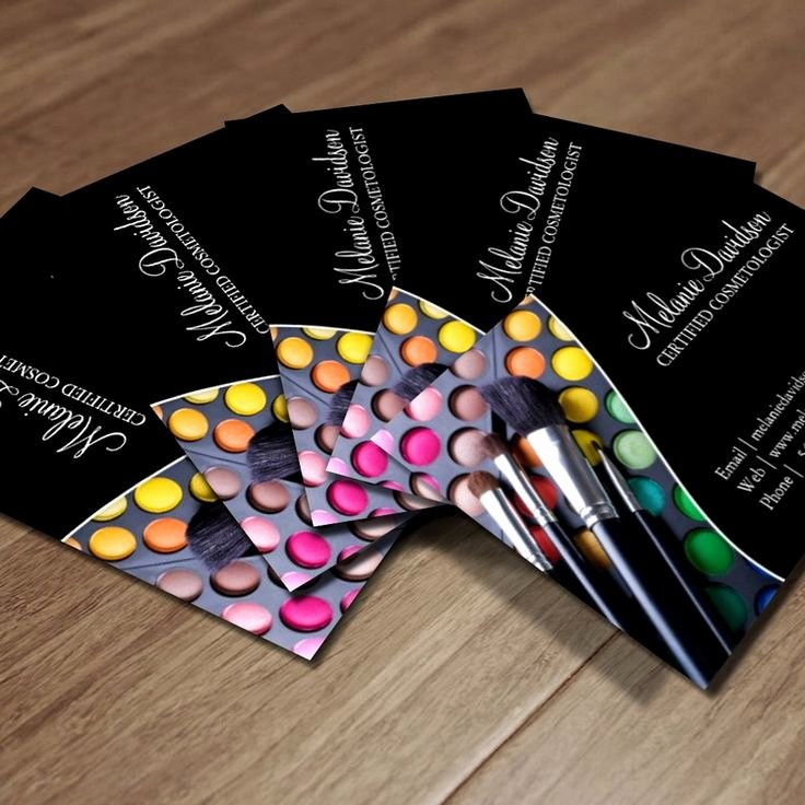 Business Cards for Artists Unique 1000 Images About Makeup Artist Business Cards On Pinterest