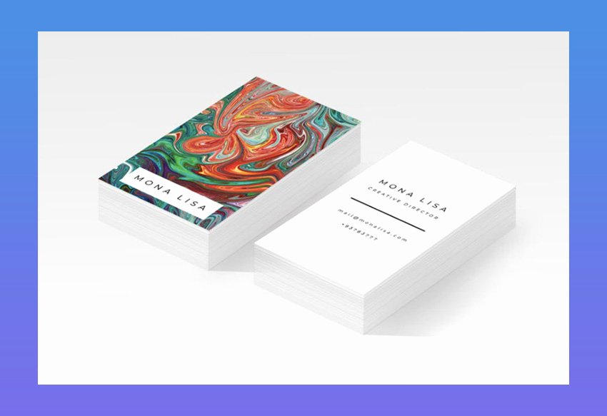 Business Cards for Artists Unique 20 Best Artistic Business Card Designs for Creatives & Artists In 2019