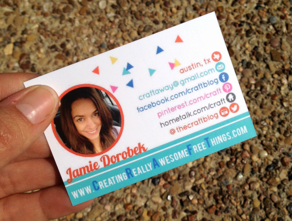 Business Cards for Crafters Awesome Business Cards C R A F T