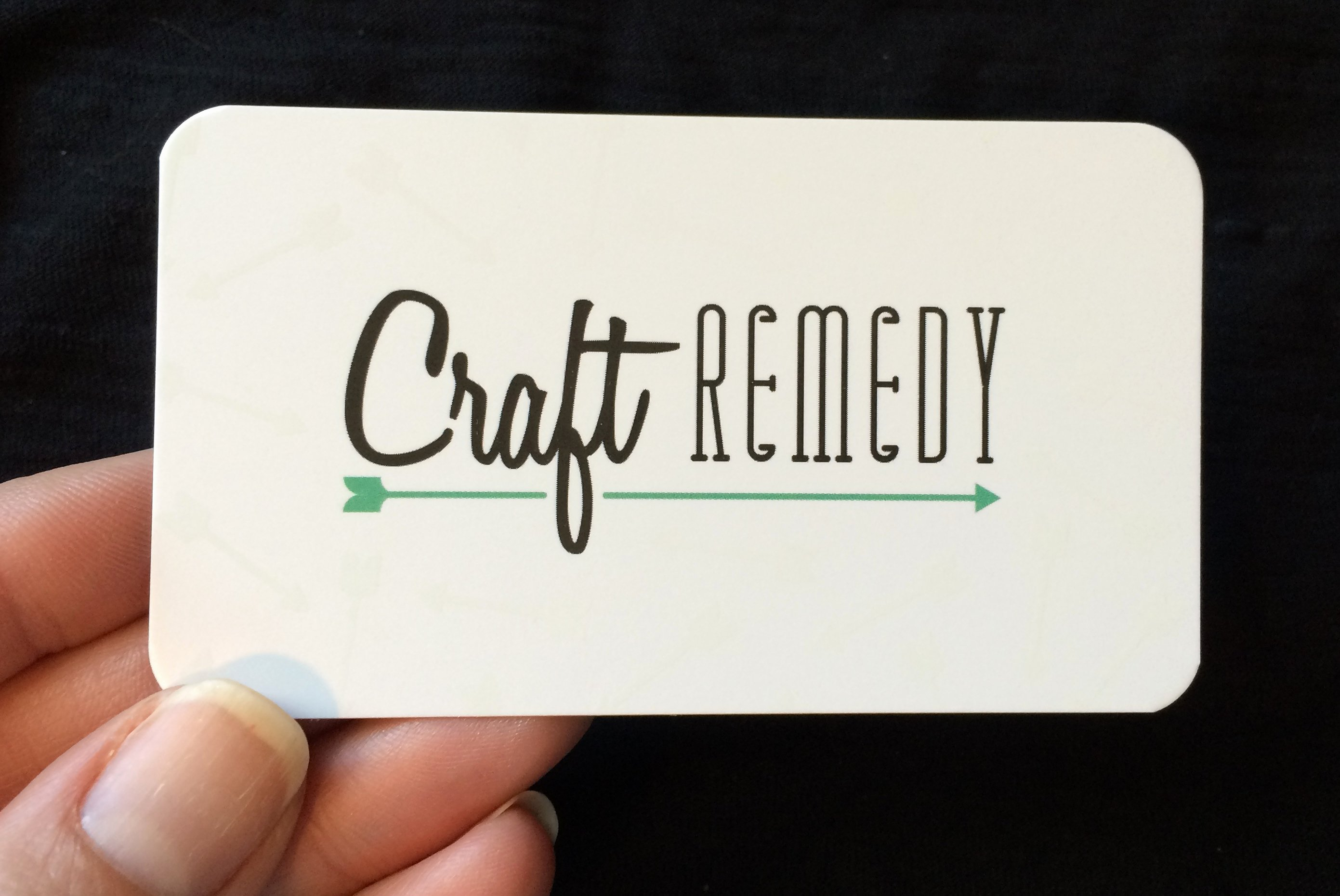 Business Cards for Crafters Best Of Business Cards are Here Craft Remedy