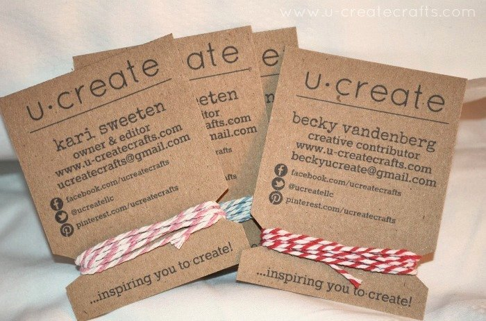 Business Cards for Crafters Lovely How to Make Spool Business Cards U Create