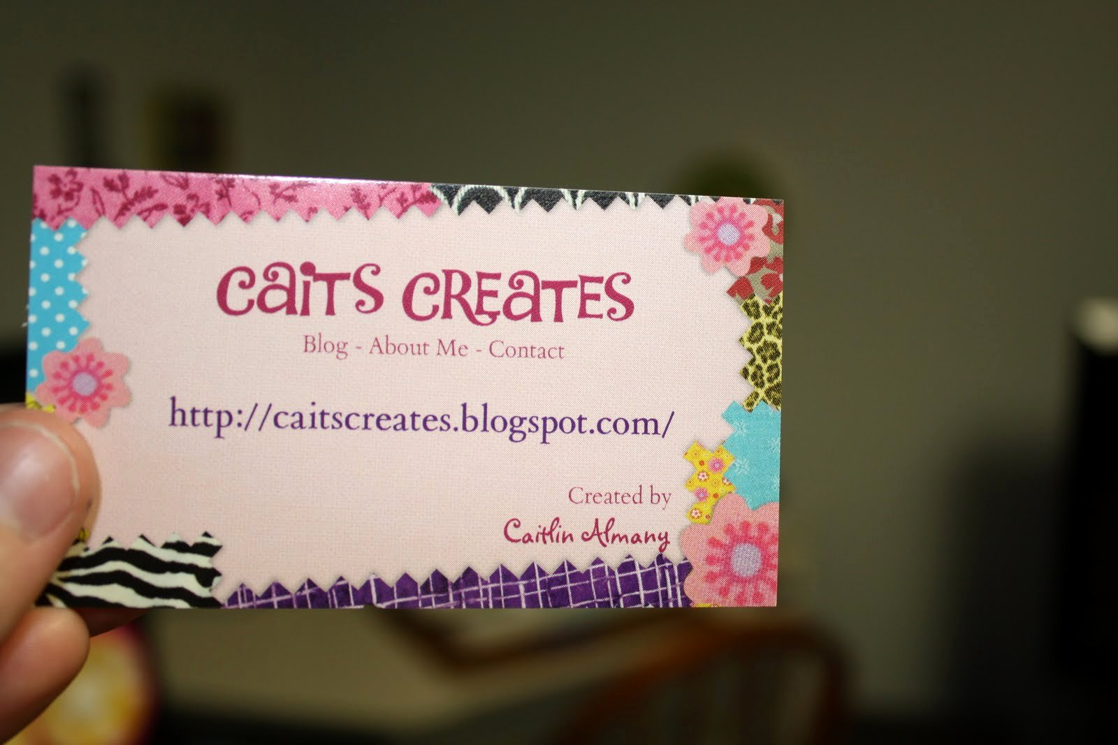 Business Cards for Crafters New Caits Creates Preparing for the Craft Show