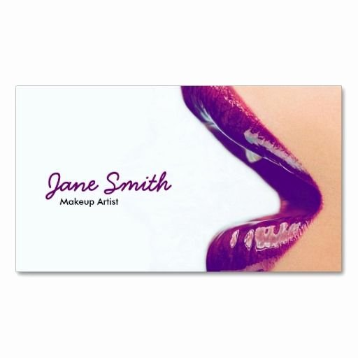 Business Cards for Makeup Artist Awesome 17 Best Images About Makeup Artist Business Card Templates On Pinterest