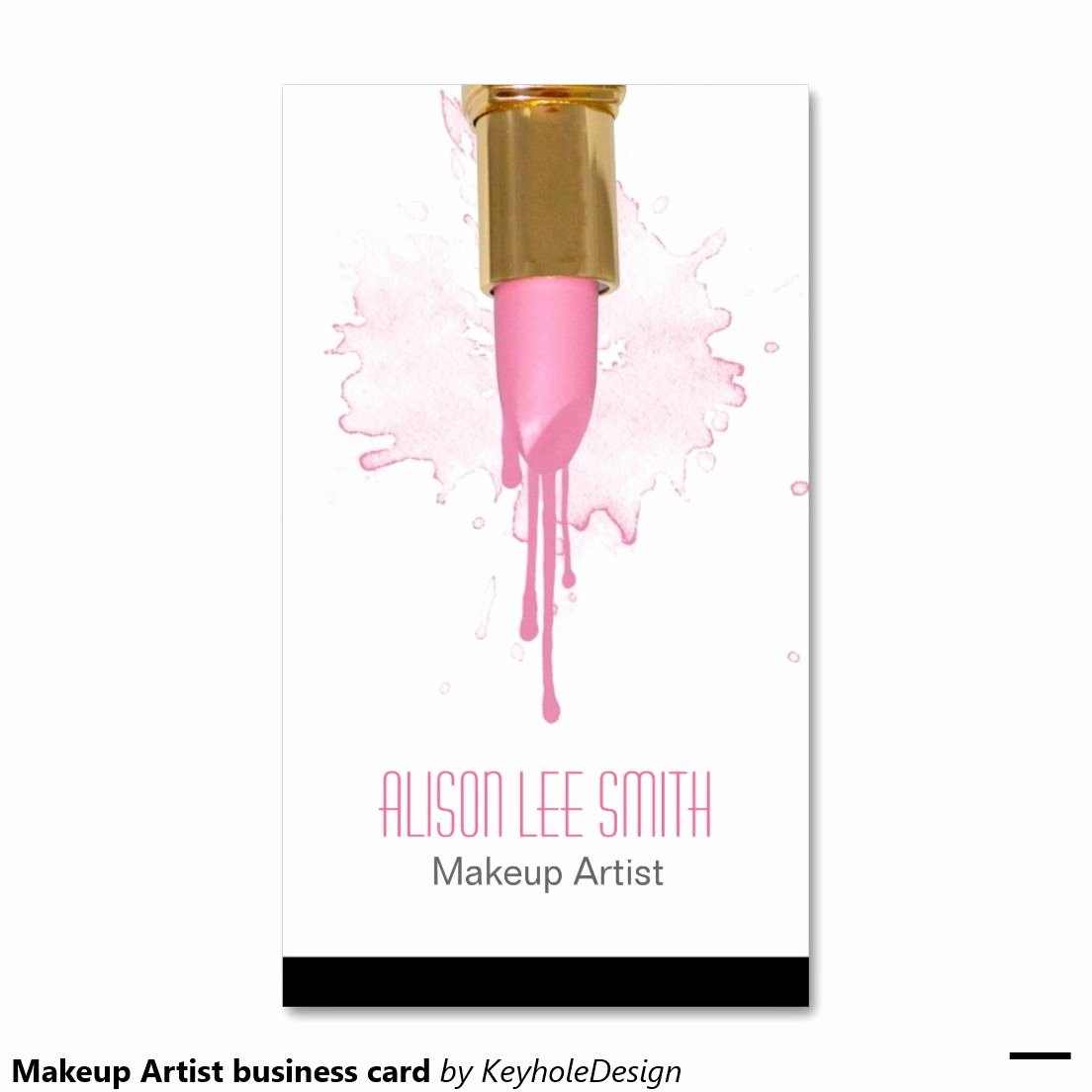 Business Cards for Makeup Artist Awesome Makeup Artist Business Card