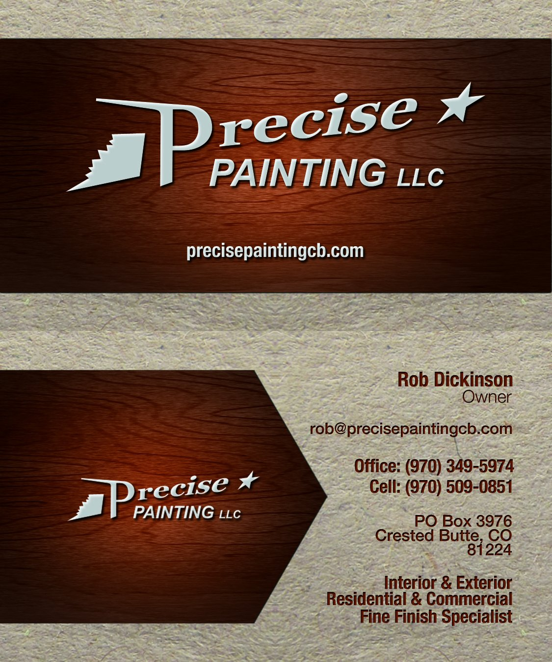 Business Cards for Painters Lovely Free Templates for Business Cards to Print at Home