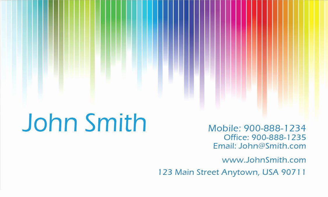 Business Cards for Painters Unique White Painting Business Card Design