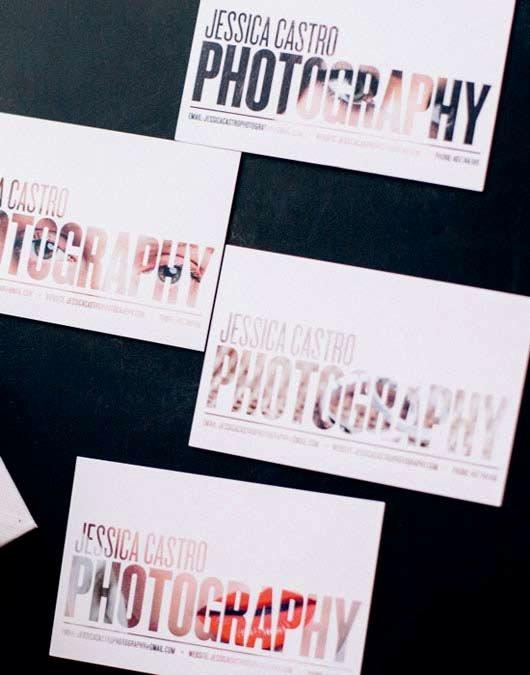 photography photographer business card ideas