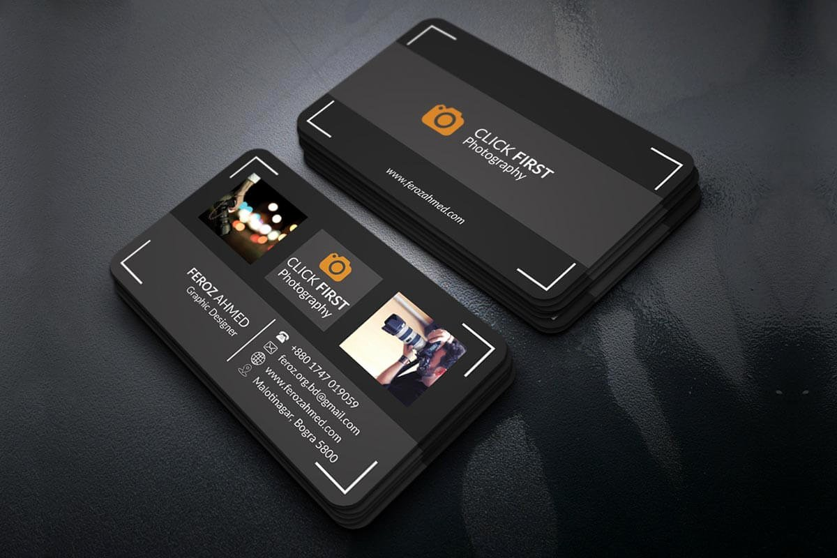Business Cards for Photographers Beautiful Free Graphy Business Card Template Creativetacos