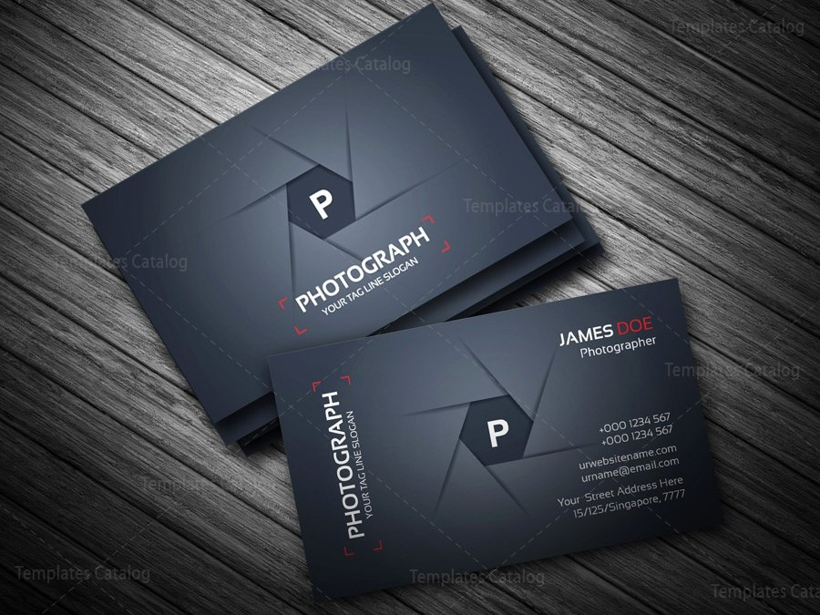 Business Cards for Photographers Beautiful Grapher Business Card Template Template Catalog