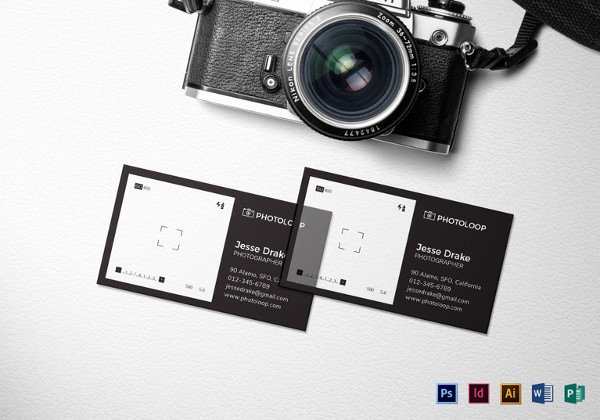 Business Cards for Photographers Best Of 52 Graphy Business Cards Free Download