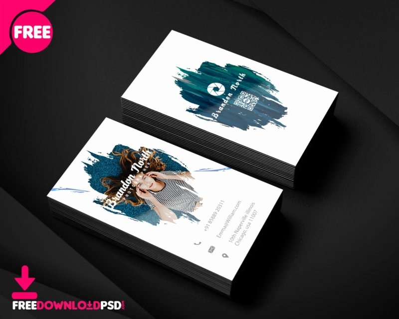 Business Cards for Photographers Elegant Grapher Business Card Template