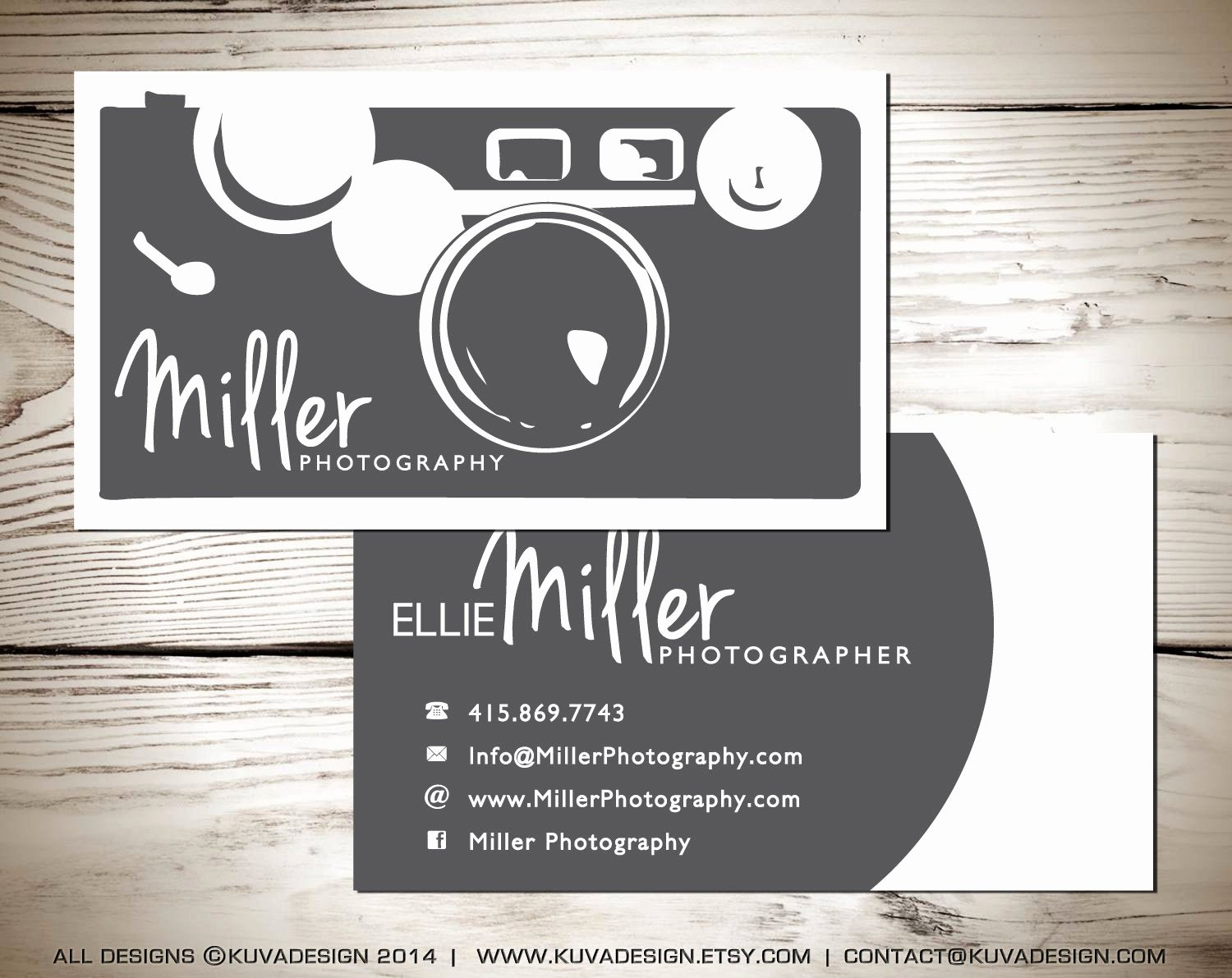 Business Cards for Photographers Elegant Graphy Business Card Design by Kuvadesign On Etsy