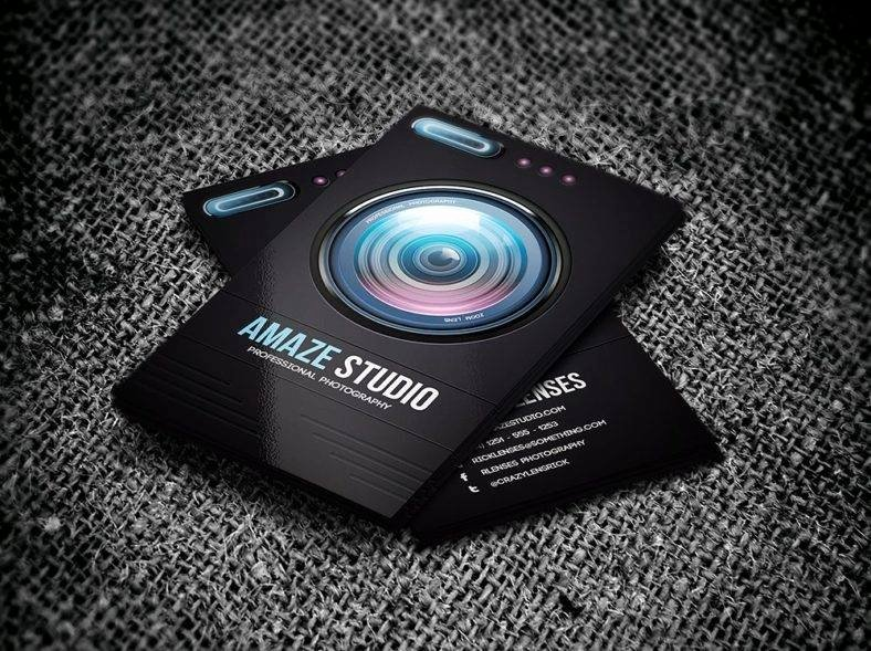Business Cards for Photographers Fresh 13 Studio Business Card Templates Word Psd