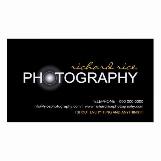 Business Cards for Photographers Fresh Grapher Business Cards