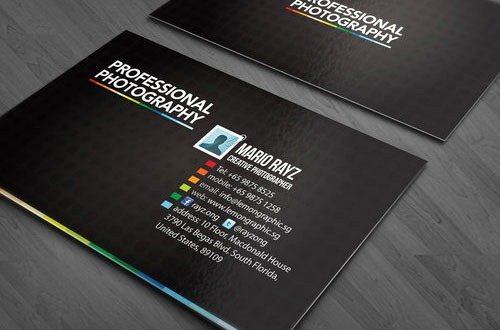 Business Cards for Photographers Inspirational 35 Graphy Business Cards for Your Inspiration