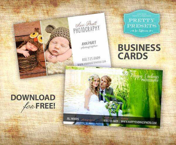 Business Cards for Photographers Inspirational 75 Free Business Card Templates that are Stunning Beautiful