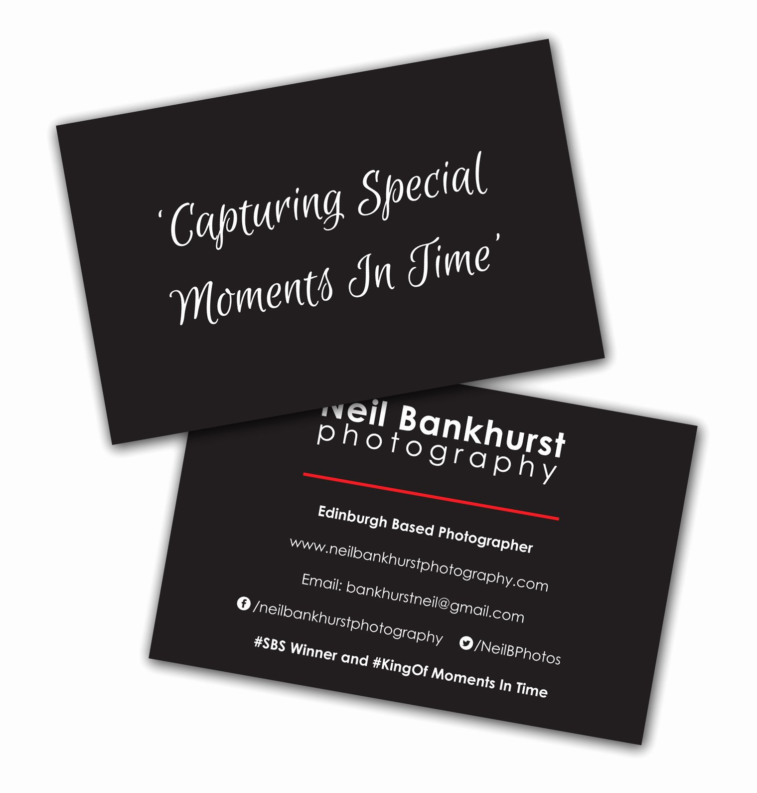 Business Cards for Photographers Lovely Neil Bankhurst Graphy Business Cards