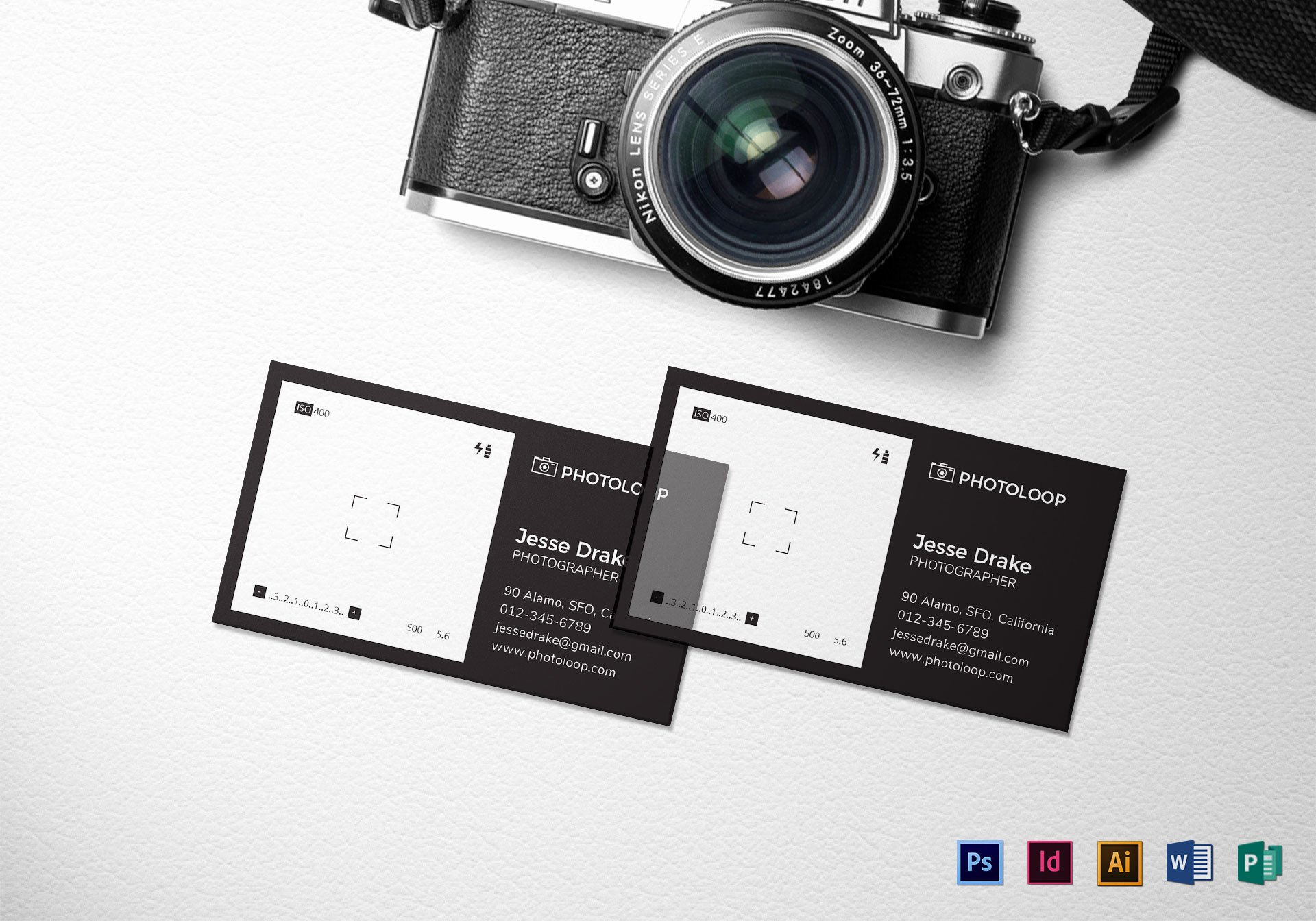 Business Cards for Photographers Luxury Plastic Grapher Business Card Template In Psd Word Publisher Illustrator Indesign