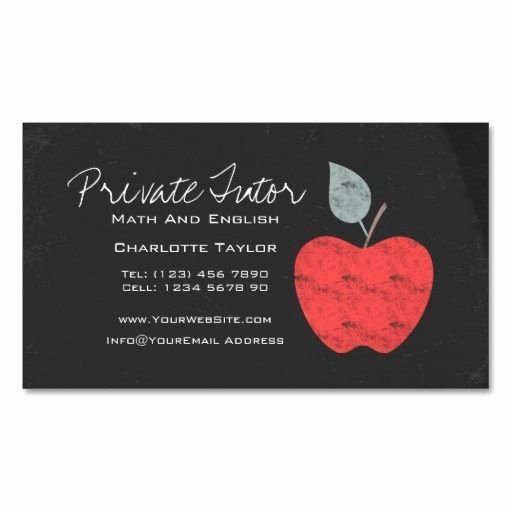 Business Cards for Teachers Beautiful 287 Best Teacher Business Cards Images On Pinterest