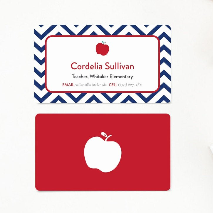 Business Cards for Teachers Beautiful Teacher Business Card Calling Cards Mommy Card Gift for