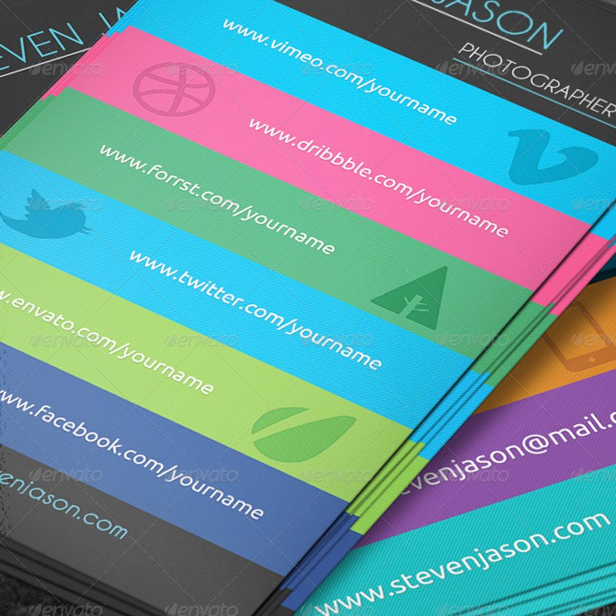 Business Cards with social Media Fresh social Media Business Card No 2 by Scopulus