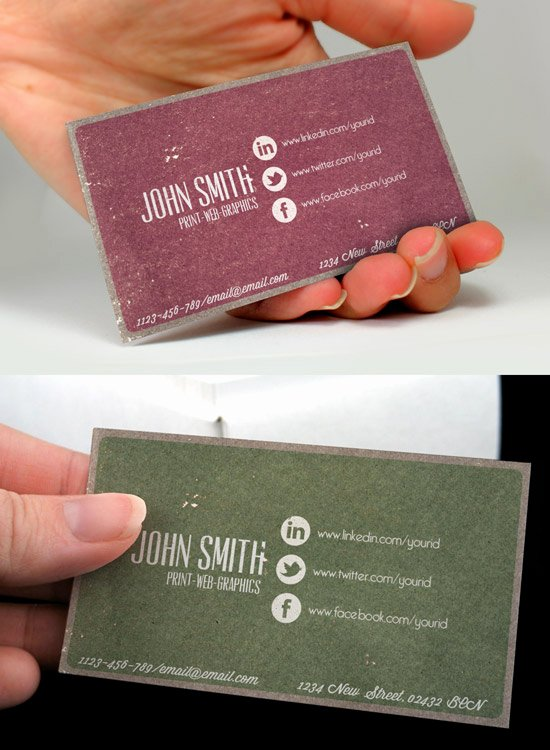 Business Cards with social Media Lovely 60 Premium Business Card Templates Designrfix