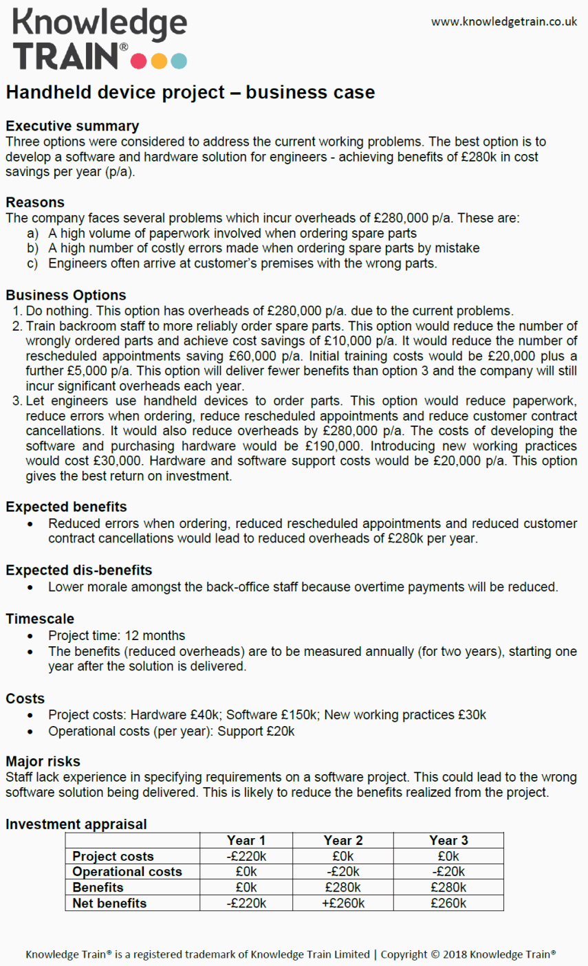 Business Case Example Pdf Inspirational How to Write A Business Case