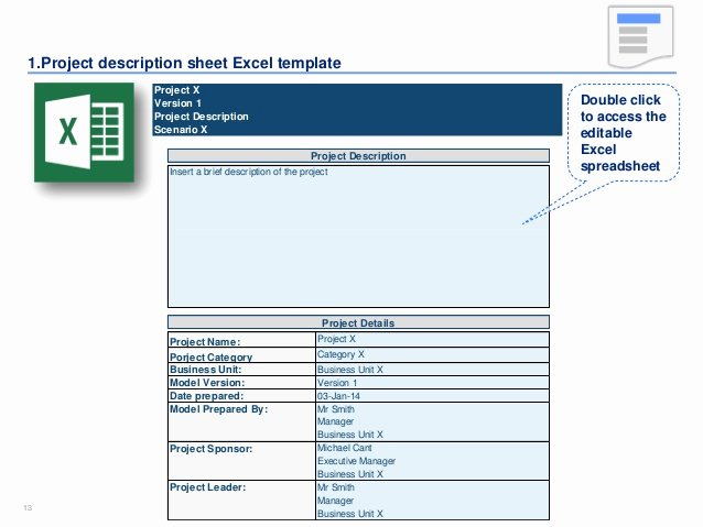 Business Case Template Excel Best Of Financial Model